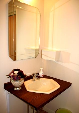 きれいな洗面室